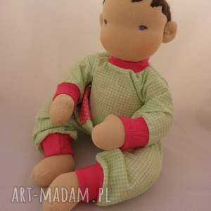 niesztampowe lalki szmacianka lalka waldorfska niemowlaczek