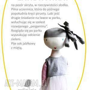 hand-made lalki balerina landrynka.