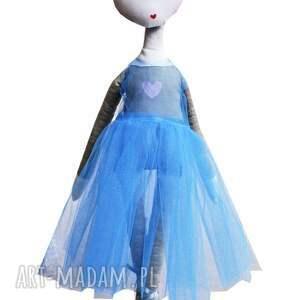 niebieskie lalki baletnica luna. księżycowa tancerka.