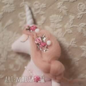 jednorożec lalki różowe magiczna bajka - lalka różany