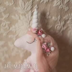 handmade lalki jednorożec magiczna bajka - lalka różany