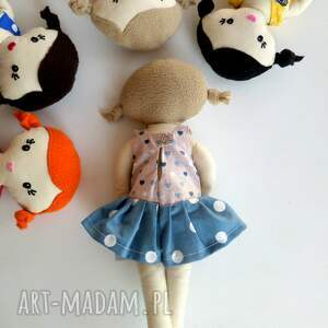 różowe lalki lalka mała lala- blondynka