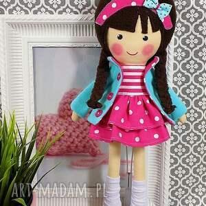 dollsgallery lalki: Malowana lala melania w czekoladowych włosach - niespodzianka lalka