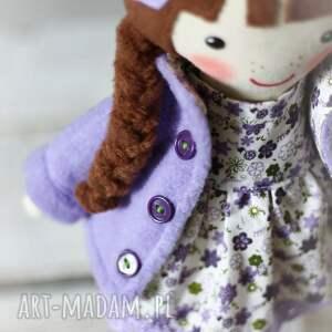 dollsgallery lalki: Malowana lala maryna - ręcznie wykonane lalka