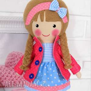 hand made lalki lalka malowana lala alicja