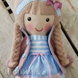lalka lalki turkusowe malowana lala blanka