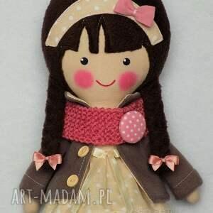 lalki lalka malowana lala katarzyna z wełnianym
