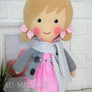 nietuzinkowe lalki lalka malowana lala aśka z szalikiem