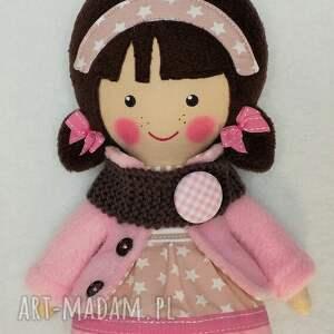 lalki lalka malowana lala patrycja z wełnianym