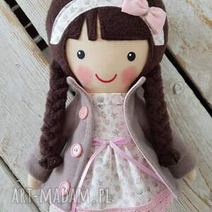 lalka lalki różowe malowana lala patrycja