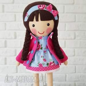 lalka lalki niebieskie malowana lala marcysia