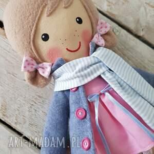 lalka lalki niebieskie malowana lala aśka