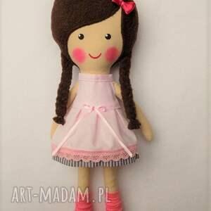 niesztampowe lalki prezent malowana lala wiki z szalikiem