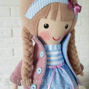 różowe lalki przytulanka malowana lala blanka