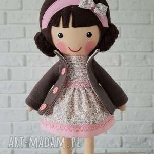 różowe lalki lalka malowana lala milenka