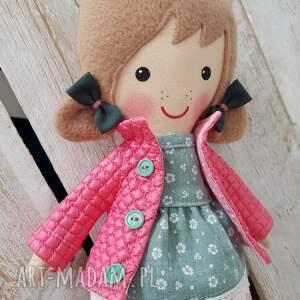 różowe lalki przytulanka malowana lala matylda
