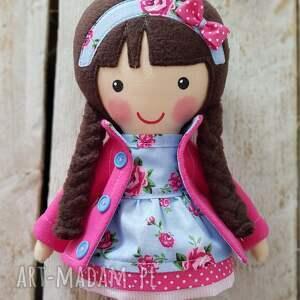 różowe lalki przytulanka malowana lala marcysia