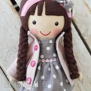 lalka lalki różowe malowana lala magdalena