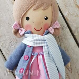 różowe lalki przytulanka malowana lala aśka