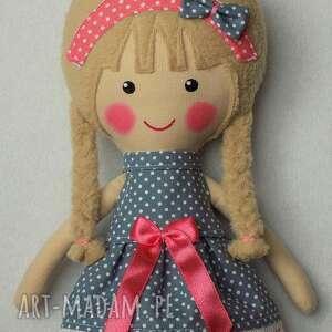 lalka lalki niebieskie malowana lala julia