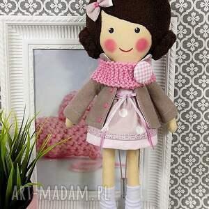 lalka lalki różowe malowana lala małgorzata