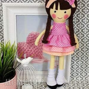 lalka lalki różowe malowana lala diana