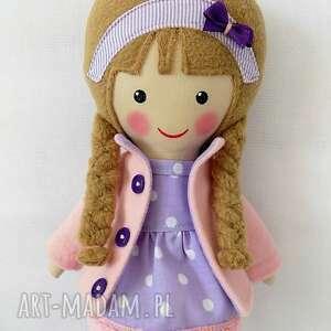 różowe lalki zabawka malowana lala sara