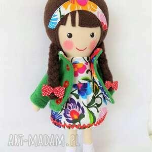 zielone lalki zabawka malowana lala marysia