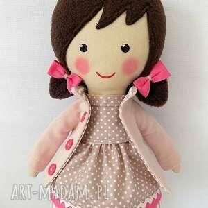 różowe lalki zabawka malowana lala roma