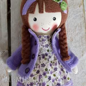 lalki: Malowana lala maryna - ręcznie wykonane zabawka
