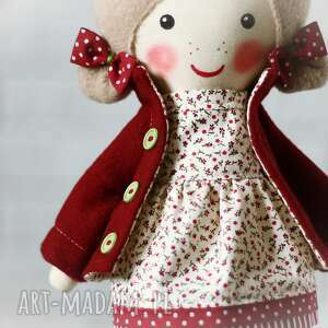 dollsgallery beżowe lalki lalka malowana lala tosia