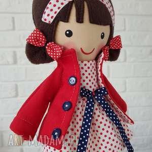 brązowe lalki zabawka malowana lala martynka