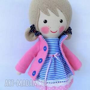różowe lalki zabawka malowana lala adela