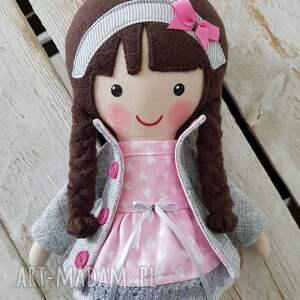 prezenty pod choinkęMalowana lala aurelia - prezent dla dziecka zabawka