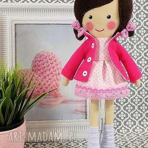 różowe lalki lalka malowana lala lilia