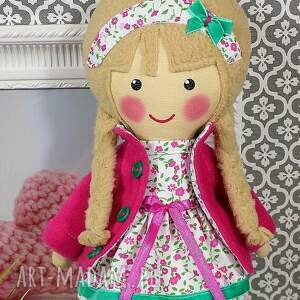 beżowe lalki lalka malowana lala julita