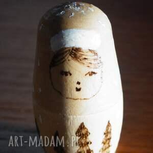 retro lalki matrioszka 4 pór roku - ręcznie