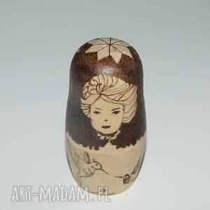 hand-made lalki retro matrioszka miłosna - ręcznie