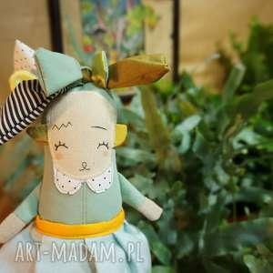 Mimi Monster lalki: Monsterówna helena - lalka/ zabawka/ handmade - zabawka maskota