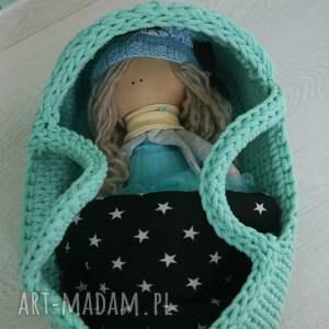 lalki gondola miękkie ekologiczne nosidełko dla lali