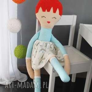 handmade lalki lala ogromna lalka, 75 centymetrów, ruda