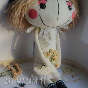 personalizowana lalki niebieskie oryginalna lalka anolinka z duszą