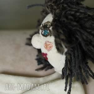 turkusowe lalki prezent pacynka lalka małgosia