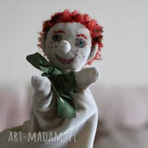 trendy lalki maskotka pacynka na rękę jaś