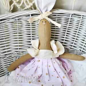 maskotka lalki różowe nazywam się pani królik. jestem przytulanką