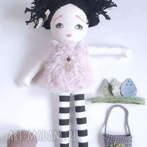 ręczne wykonanie lalki eko lalka nocny motyl -ćma
