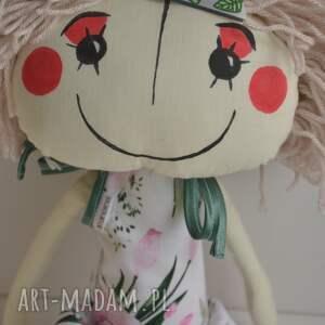 białe lalki lalka ręcznie szyta anolinka