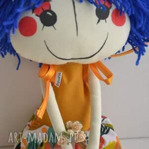 lalki szmacianka ręcznie szyta lalka anolinka