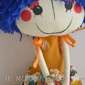 lalki szyta-lalka ręcznie szyta lalka anolinka