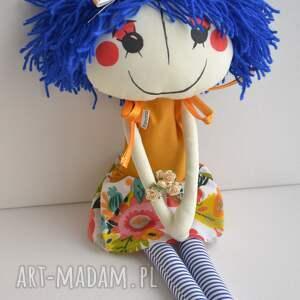 lalki ręcznie szyta lalka anolinka